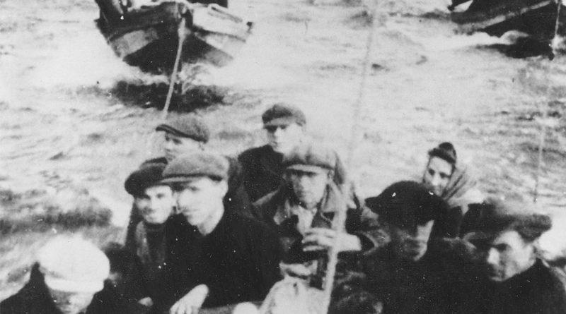 Estnische Flüchtlinge Zweiter Weltkrieg