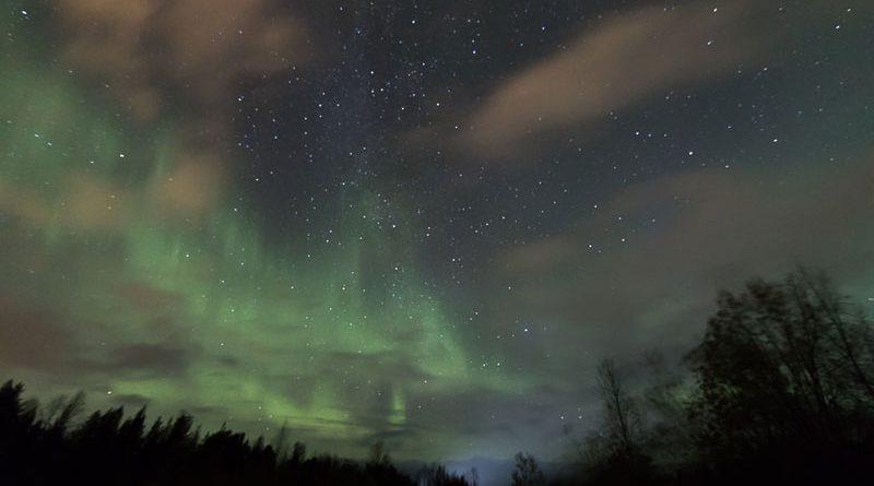 Polarlicht Lappland