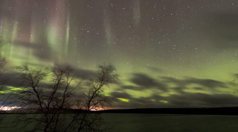 Polarlicht Aurora borealis