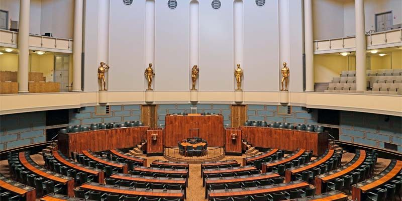 Finnisches Parlament