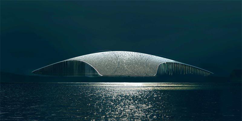Dänin entwirft prestigeträchtiges Walbeobachtungszentrum in Norwegen