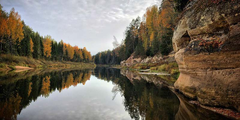 Gauja-Nationalpark Lettland