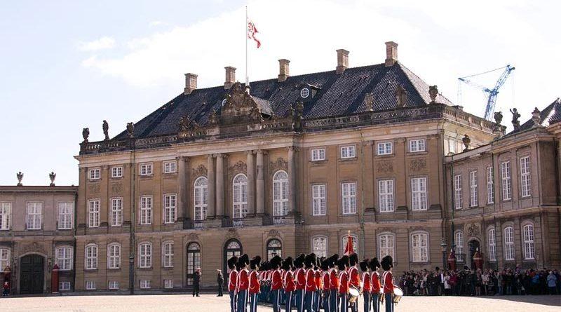 Schloss Amalienborg Reiseziel