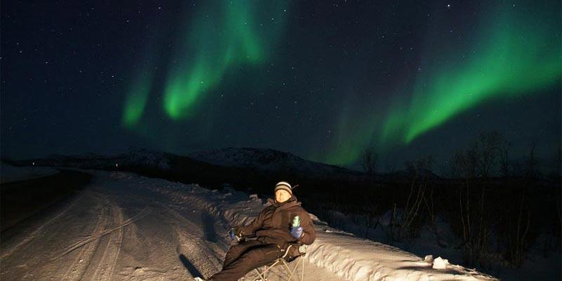 Europas bester Ort für Polarlichter
