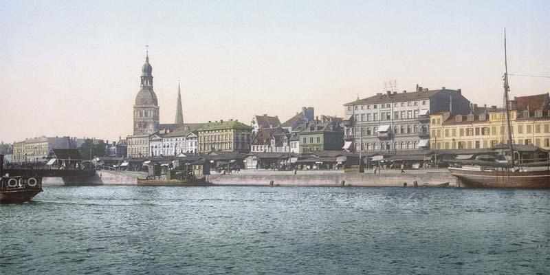 Geschichte Riga Zeittafel