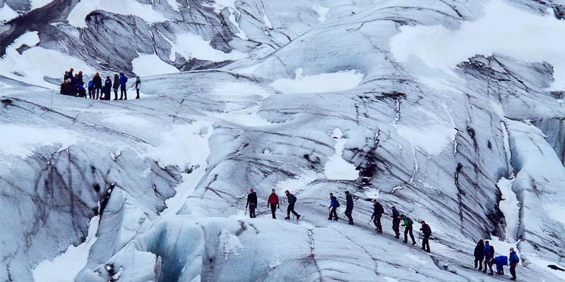 Langjökull Gletscher