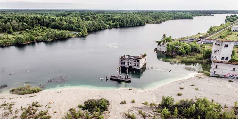 Schön schaurig: das ehemalige Gefängnis Rummu in Estland
