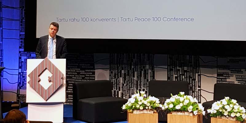 Konferenz 100 Jahre Frieden von Tartu