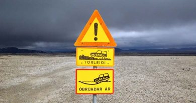 Verkehrsregeln Skandinavien