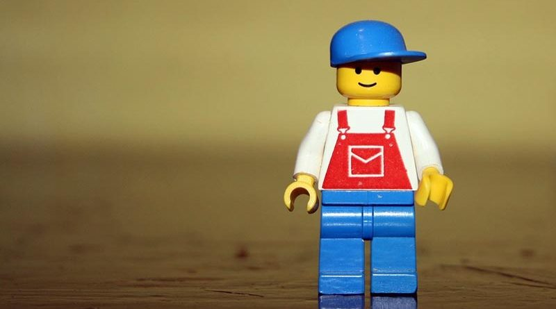 Klassische Legorfigur