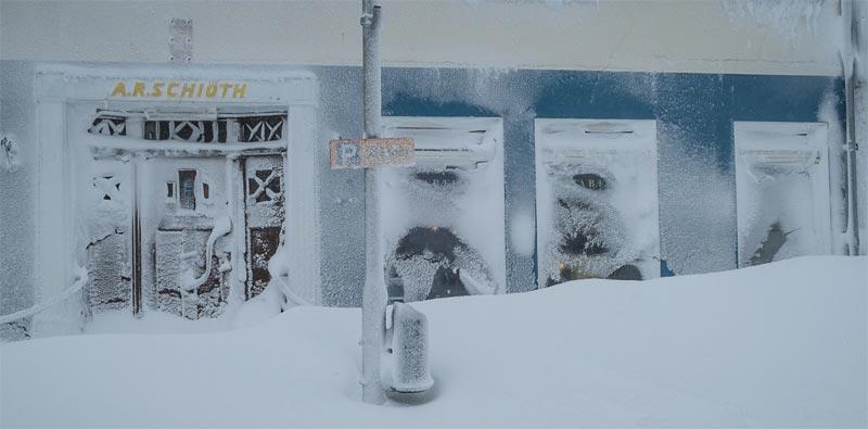 Siglufjörður Schnee