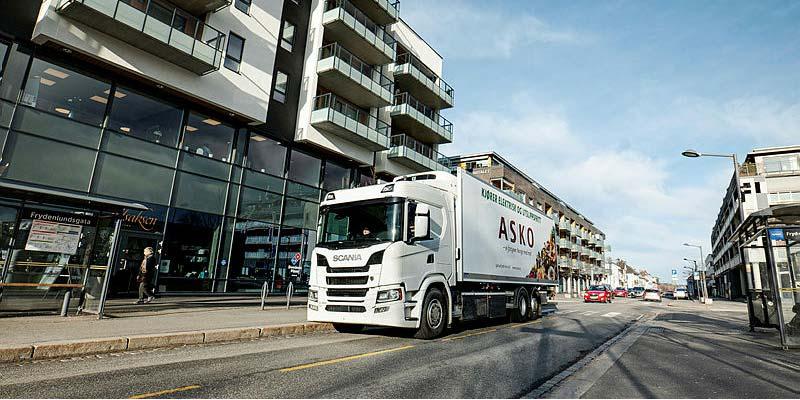 Scania stellt die Lkw-Produktion in Europa wegen Coronavirus ein