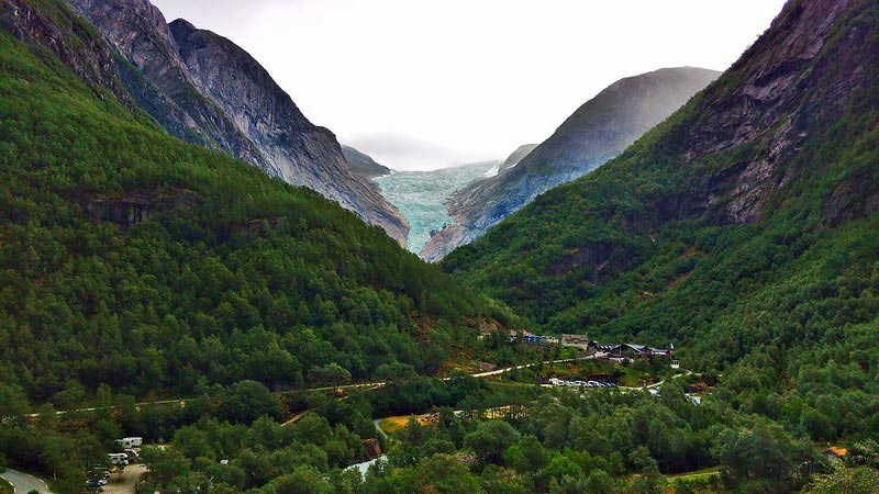 Briksdalsbreen Gletscherwanderung