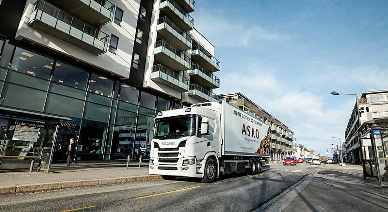 Scania Lieferwagen