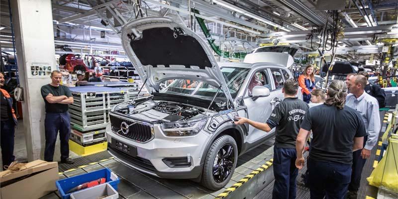 Volvo produziert Autos