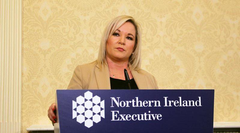 Michelle O'Neill Corona Nordirland