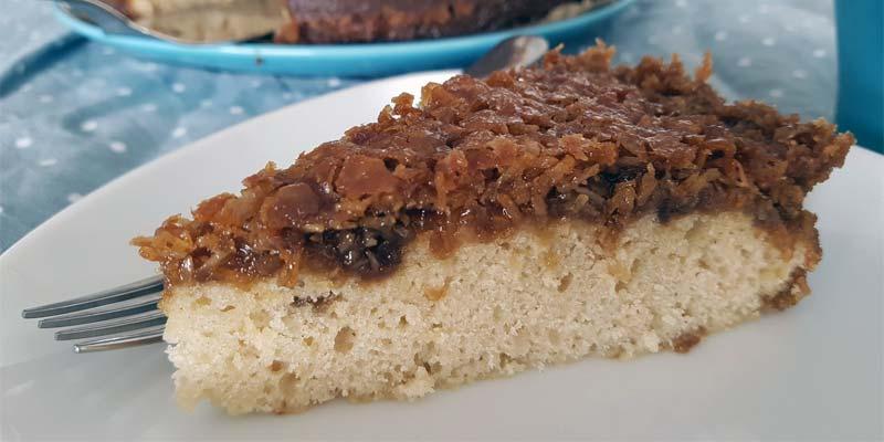 Kuchenrezept Droemmekage vegan laktosefrei ohne Ei