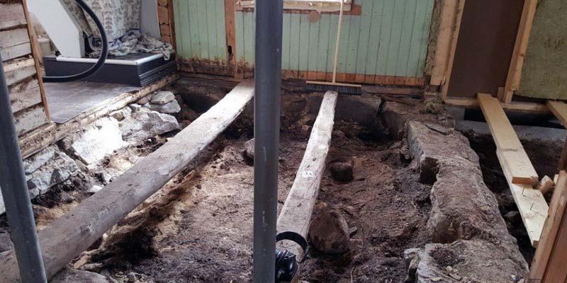 Norwegisches Ehepaar stößt bei Renovierungsarbeiten auf Wikingergrab