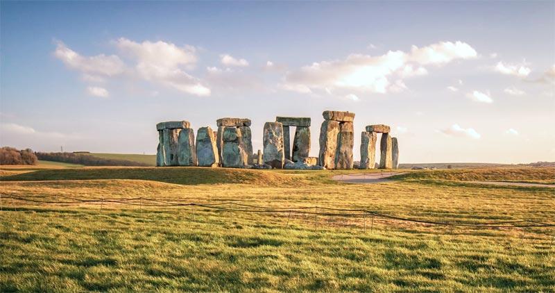 Stonehenge England Sehenswürdigkeit