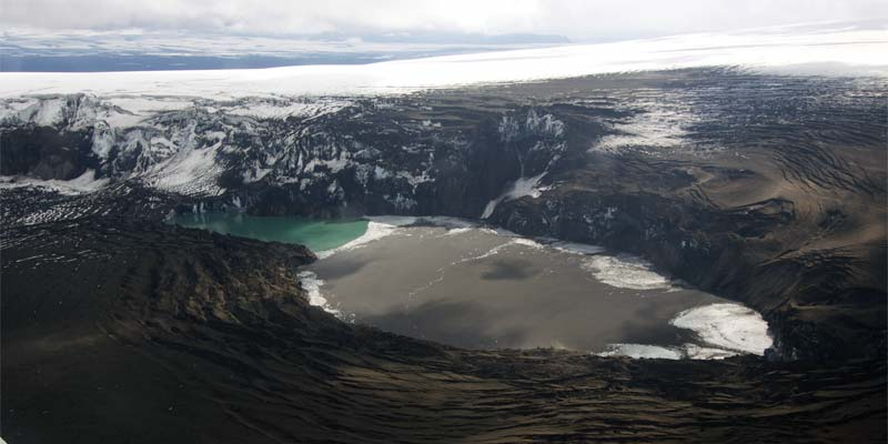 Vulkanausbruch Grímsvötn Island