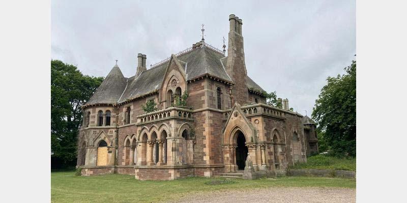 Schottland Herrenhaus Immobilie