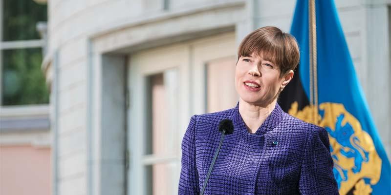 Estlands Präsidentin übernimmt Schirmherrschaft für Öko-Schulen