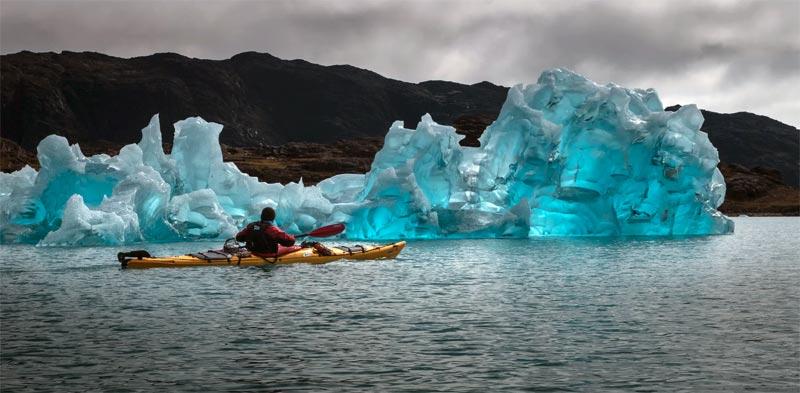 Grönland Eisberg Klima
