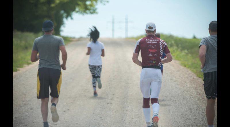 Marathon Lettland Lichterstraße