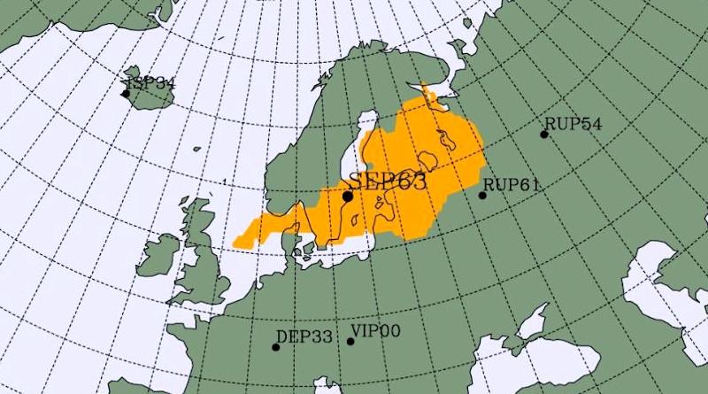 skandinavien radioaktivitaet