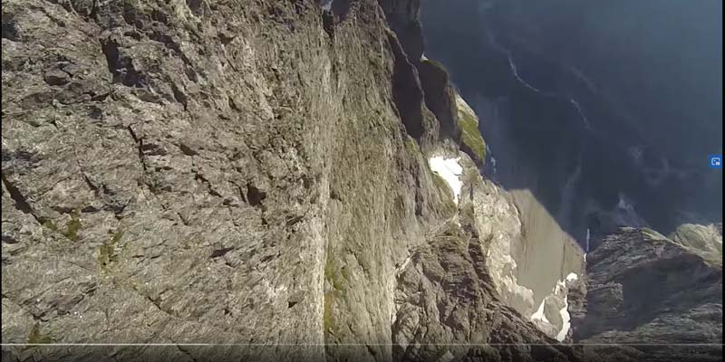 Wingsuit Flug Norwegen