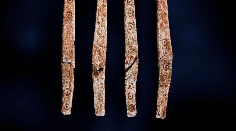 Antikes Würfelspiel Norwegen