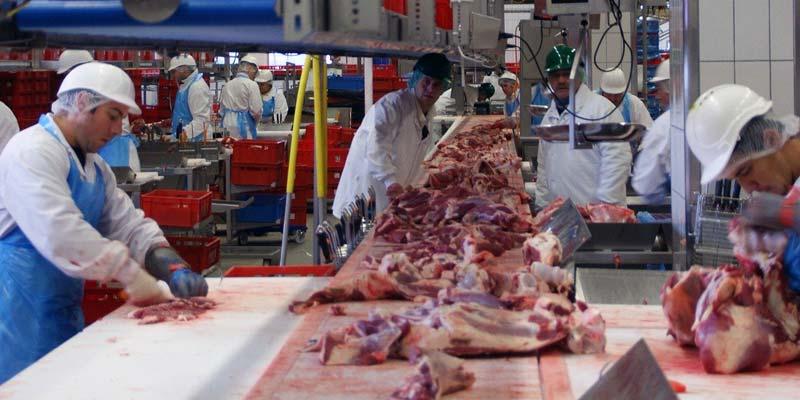 Fleischverarbeitung Corona Dänemark