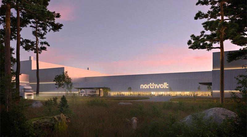 BMW Northvolt Schweden