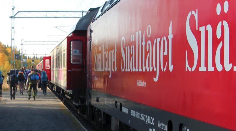 Zug Schweden Jämtland