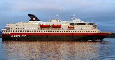 Corona-Ausbruch auf Kreuzfahrtschiff von Hurtigruten