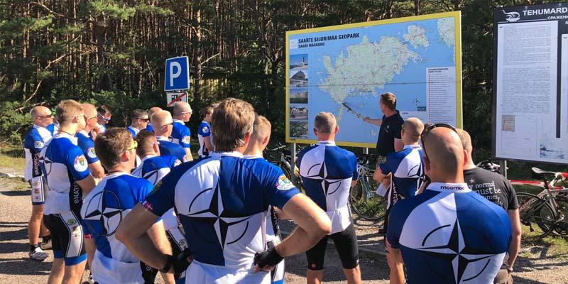 Nato Radtour Estland