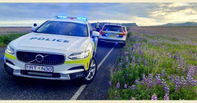 Verkehrsregeln Island Polizei Raser