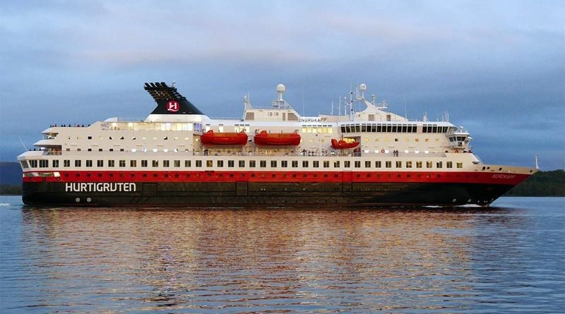 MS Nordkapp Hurtigruten