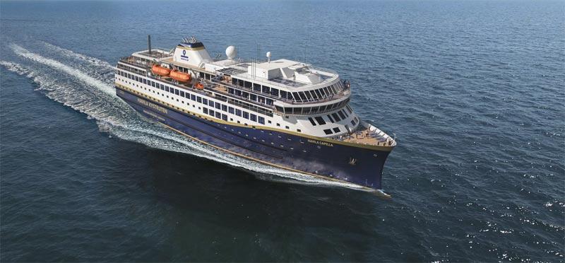 Kreuzfahrtschiff Havila Capella