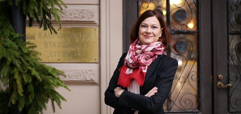 Minna Arve, Bürgermeisterin Turku