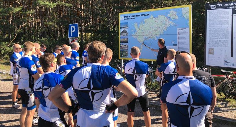 Radtour Estland Nato