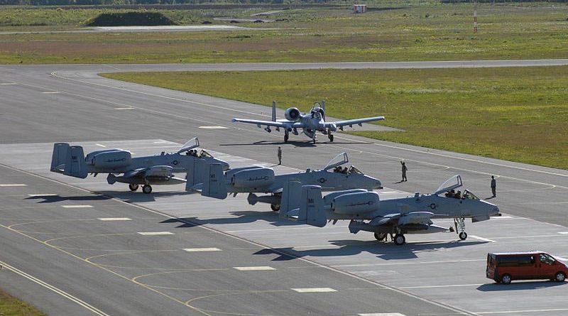 US Flugzeuge Ämari Estland