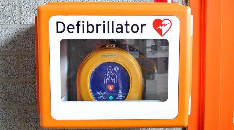 Defibrillator-Drohne Kopenhagen