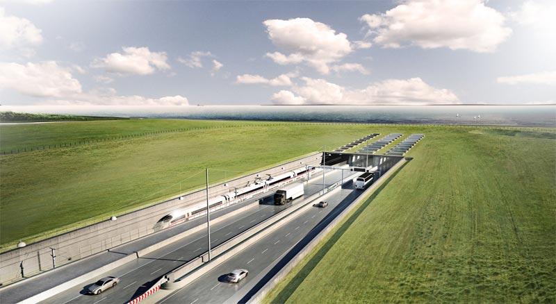 Tunnel Fehrmarn Dänemark