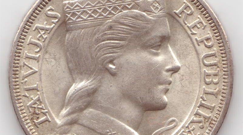 Lats währung Lettland