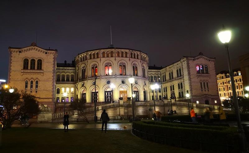 Parlament Norwegen Stortinget