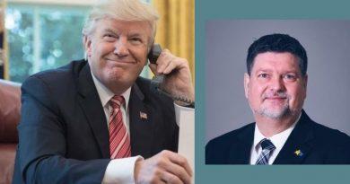 Wofür ein US-Präsident Zeit hat: Trump rief den schwedischen Politiker an, um sich zu bedanken