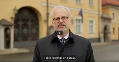 Lettischer Präsident stellt sich gegen Corona-Populismus