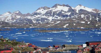 Klimawandel Eisschmelze Grönland