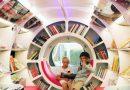 Elektrische Bücherbusse bringen Kinderaugen zum Leuchten – und zum Lesen